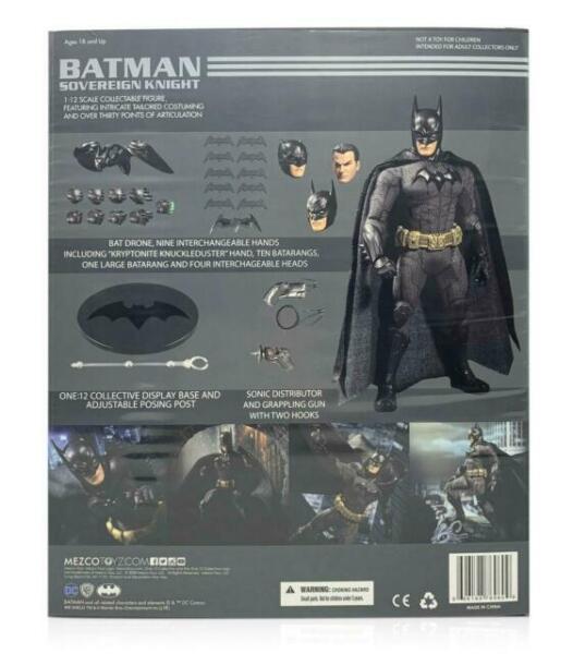 Mezco Batman souverain Knight One:12 action collective Figure WC76960