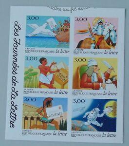 France année 1998 3156 à 3161 adhésif 18 à 23 neuf luxe ** cote 12