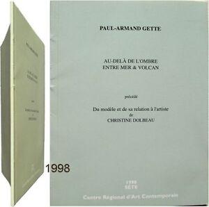 Au-dela-de-ombre-entre-mer-volcan-1998-Paul-Armand-Gette-relation-modele-artiste