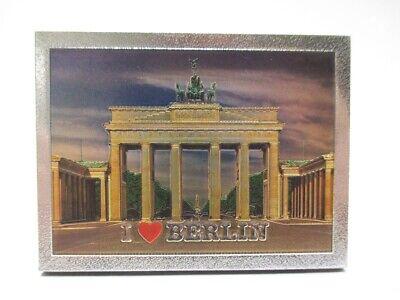 2019 Neuer Stil Berlin Laser Magnet 8 Cm Souvenir Germany Brandenburger Tor Goldfar