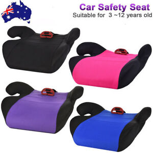 Details About Car Booster Seat Chair Cushion Pad For Toddler Children Child Kids Baby Sturdy