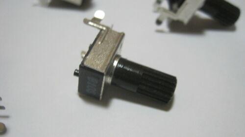 10x Vimex 9mm Snap In Insulated Shaft Potentiometer R0901N-B-10K-L20//KC C H=6.5