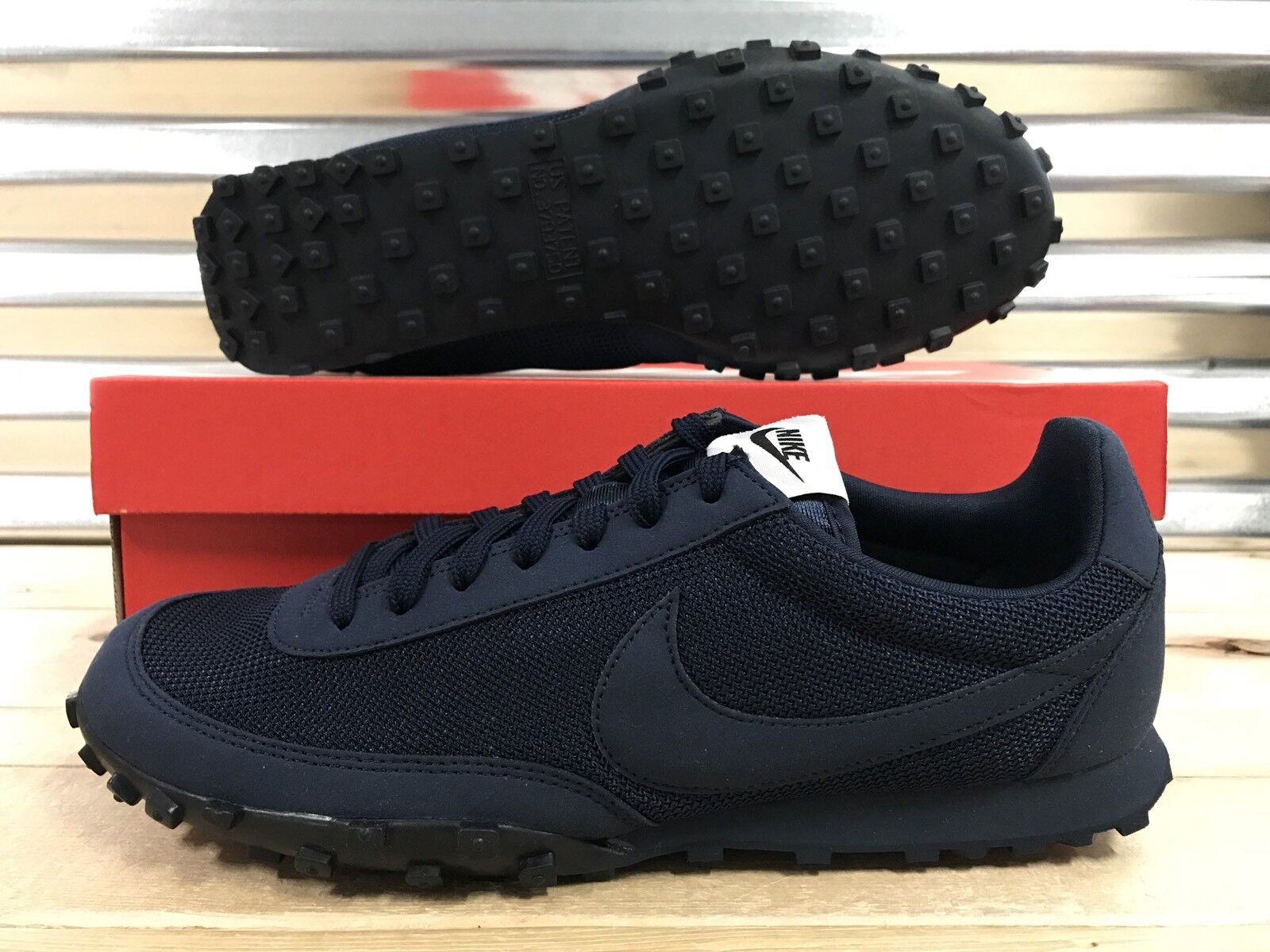 Nike Waffle Racer '17 PRM Running shoes shoes shoes Obsidian Navy bluee SZ ( 876257-400 ) 943278