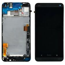 For HTC one M7 801e LCD display Screen Digitzer with FRAME AND TOOLS (BLACK)