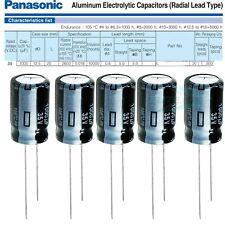 103pcs Panasonic FR 1000mfd 35v 1000uf 12.5x20mm electrolytic capacitor