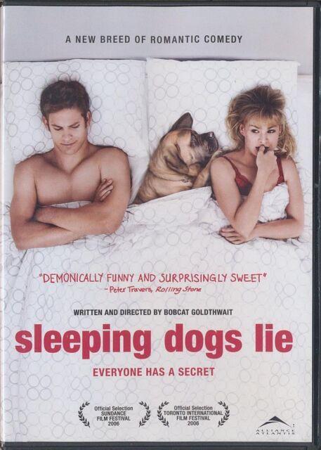 Sleeping Dogs Lie (DVD, 2007, Widescreen) a film by Bobcat Goldthwait - RARE