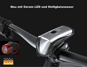 LED Fahrradbeleuchtung Set - Fahrradlicht - Fahrradlampe - StVZO zugelassen