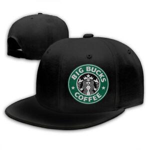 Starbucks-Snapback-Baseball-Hat-Adjustable-Cap