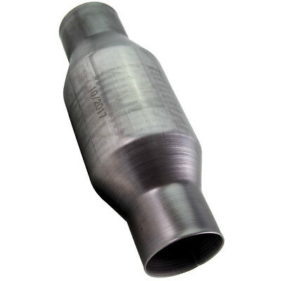 1PC 410250 2.5 Inch Universal High Flow Stainless Catalytic Converter SPUS