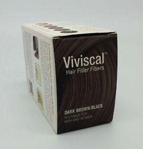 Viviscal Hair Filler Fibers Dark Brown Black For Men And