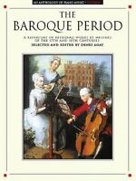 An Anthology Of Piano Music Volume 1: The Baroque Period Sheet Music 014001214