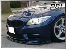 3D Style Carbon Fiber Front Bumper Add-On Lip for 2009-2014 BMW E89 Z4