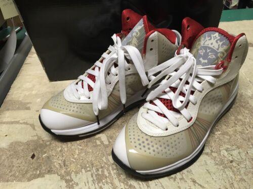 429676 Lebron Gratuite 100 Nike Rouge Viii Hommes Blanc Livraison 8 V2 Noir Air GzVpqMSU