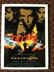 James-Bond-limited-Edition-9-card-trading-card-set-1995-Movie-034-Goldeneye-034