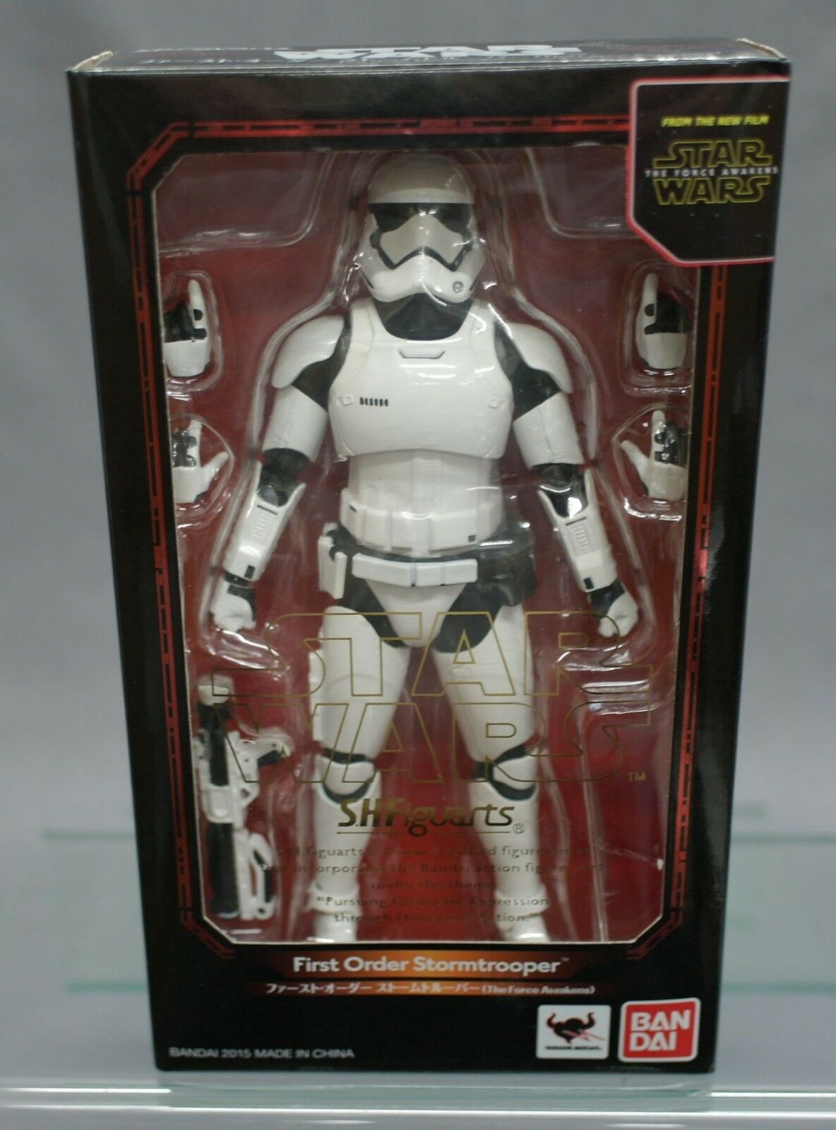 SH S.H. Figuarts First Order Stormtrooper Star Wars The Force Awakens Bandai