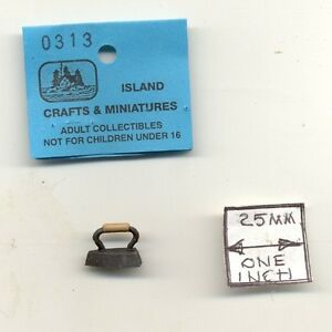 SCHOOL BELL 1//12 scale dollhouse cast metal miniature tool ISL2462