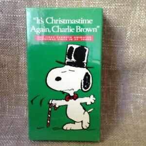 Its Christmas Time Again Charlie Brown.Details About It S Christmastime Again Charlie Brown Vhs Sealed Peanuts Special
