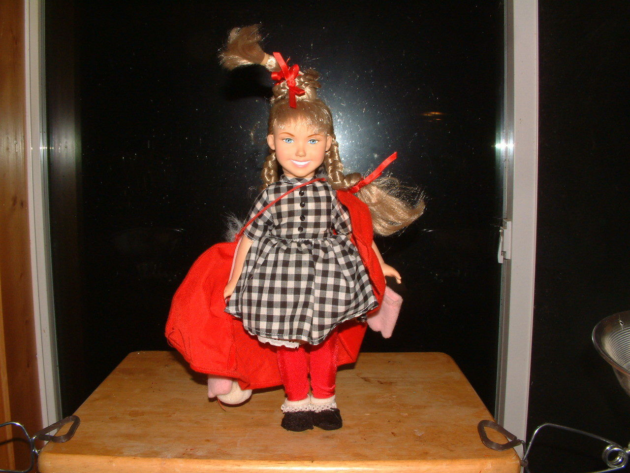 Dr. Seuss - How The Grinch Stole Christmas - Cindy Lou Who - Doll