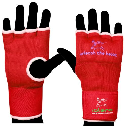 ISLERO Boxing Gel Inner Gloves hand Wraps Punch Bag MMA Grappling Martial Arts