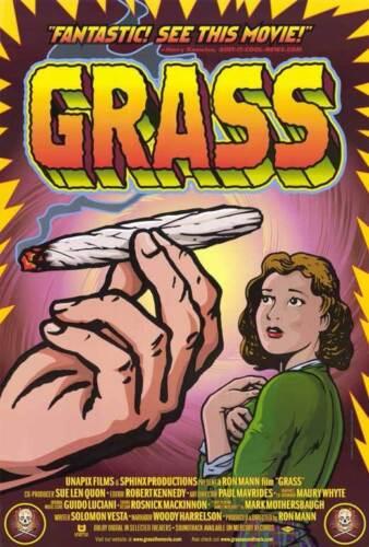 Anslinger George Bush Cab GRASS Movie POSTER 27x40 Woody Harrelson Harry J