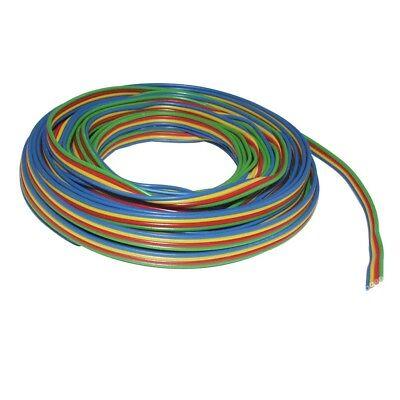 Ring 5m Trefolo In Rame 4 X 0,14mm² Cavo 4-col. Blu/giallo/rosso/verde 860299-grün 860299 It-it Mostra Il Titolo Originale Ritardare La Senilità