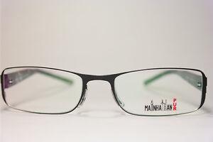 Mainhattan-Pur-MOD-8217-Col-415-51-19-140-Negro-Ovalado-montura-de-gafas-NUEVO