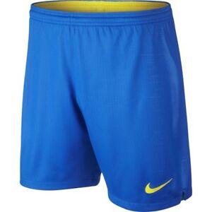 4a8a1b1c3 Nike Brazil Brasil WC World Cup 2018 Home Soccer Shorts Royal Blue ...