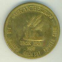 Saskatoon Canada 1968 Pion-Era Dollar Token