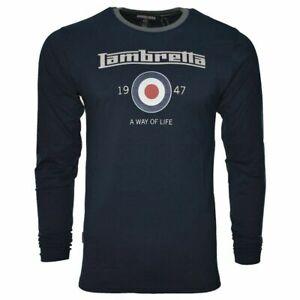 MENS LAMBRETTA FOOTBALL WHITE ENGLAND FASHION T-SHIRT SS 3806