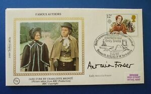 BENHAM-1980-FAMOUS-AUTHORS-FIRST-DAY-COVER-SIGNED-BY-LADY-ANTONIA-FRASER