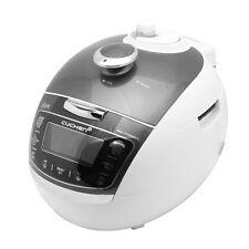 NEW Cuchen Premium IH Pressure Rice Cooker 6Cup, Metal Grey WHA-VE0609, 110V