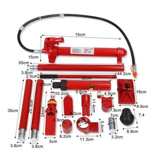 Portable 10 Ton Auto Car Hydraulic Power Jack Car Body Frame Repair Lifting Tool Ebay