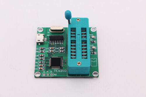 Puerto USB IC lógico Checker Tester Digital IC 74 serie 40 Módulo Medidor De Chip