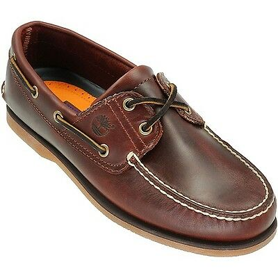 Timberland Men's Classic Boat 2-Eye Rootbeer Smooth 25077, TB025077214