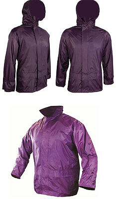 Ehrlich New Ladies Waterproof Lightweight Pack Away Jacket - Outdoors Camping All Sizes