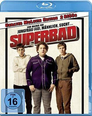 < Blu-ray * SUPERBAD - UNRATED MCLOVIN EDITION #NEU OVP