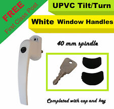 UPVC WINDOW HANDLE TILT & TURN 40MM SPINDLE