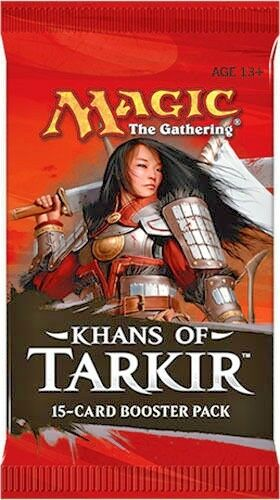 * Khans of Tarkir Booster Pack x 1 * Brand New MTG From Sealed Box English