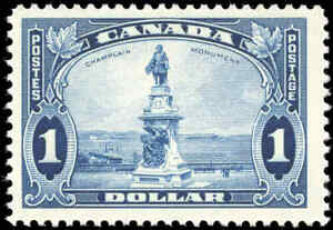 Mint-NH-Canada-1-00-F-1935-Scott-227-King-George-V-Pictorial-Stamp