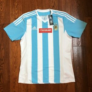 0a8cc42a9c5 New Men s adidas Argentina National Team Soccer Jersey Futbol 2015 ...