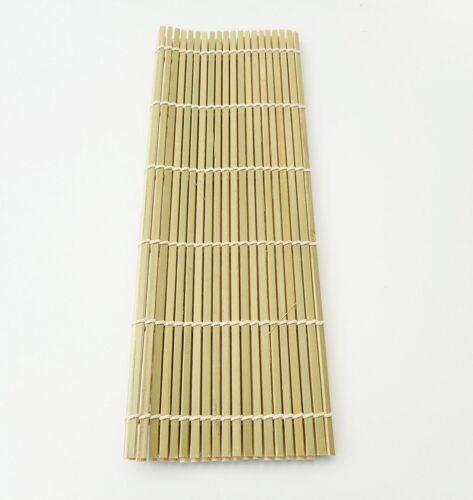 "MT TORIMATSU Bamboo Sushi Mat /""MAKISU/""Japanese Kitchen Hand Rolling 270mm F//S"