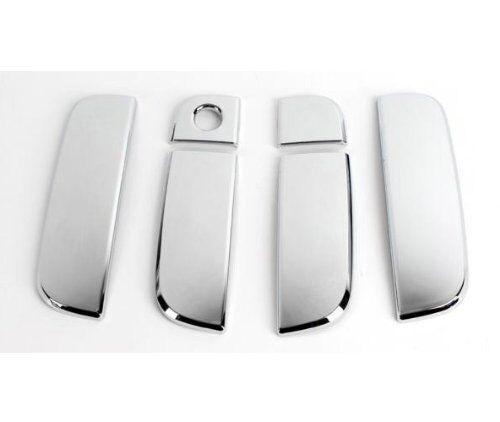 Chrome Door Handle Cover Kit 6pc Set for 2008 2013 Kia Soul