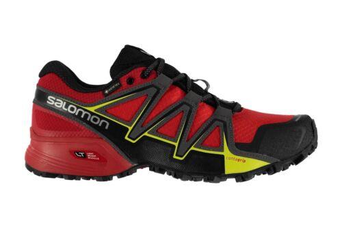 Salomon Mens Speedcross Vario 2 GTX Trail Running Shoes Fiery Red Trainers