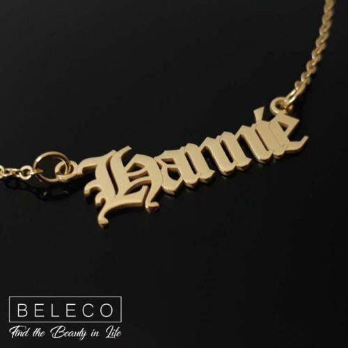 Customize Name Necklace 15 Font Style Custom Your Name Necklace With Any Name