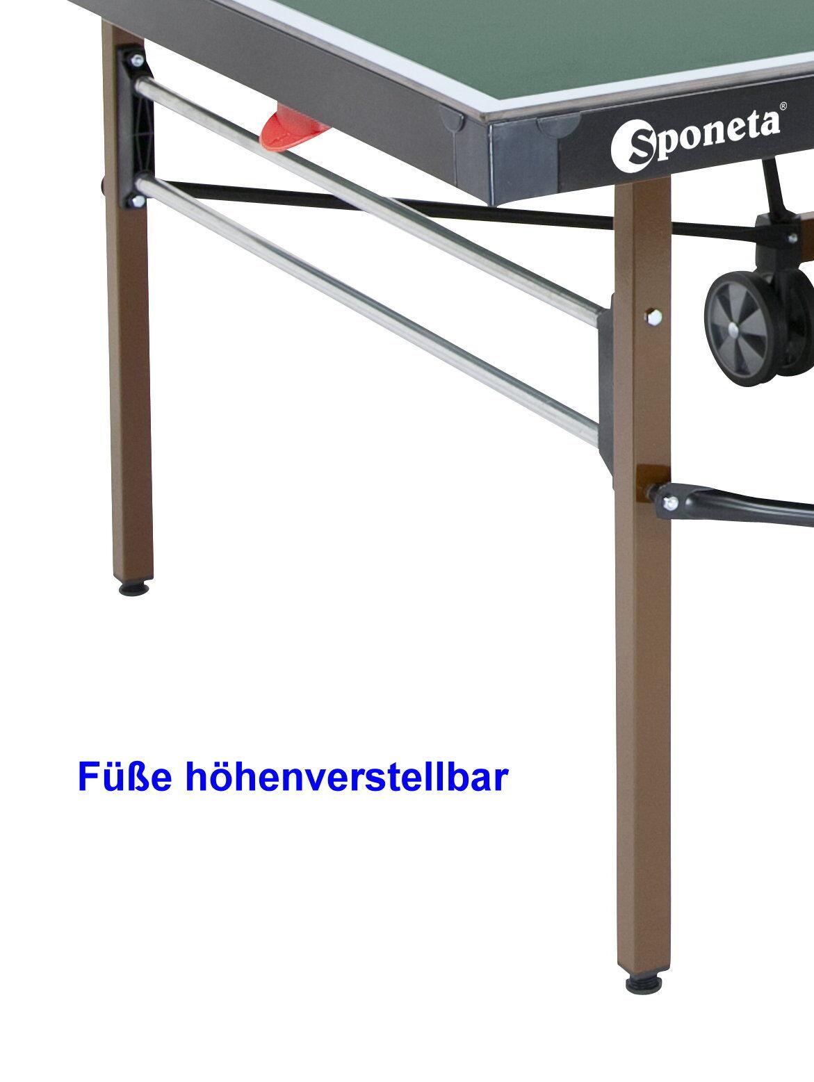 Sponeta S 4-72 e Tischtennisplatte outdoor wetterfest mit Netz Tischtennistisch Tischtennistisch Tischtennistisch e96512