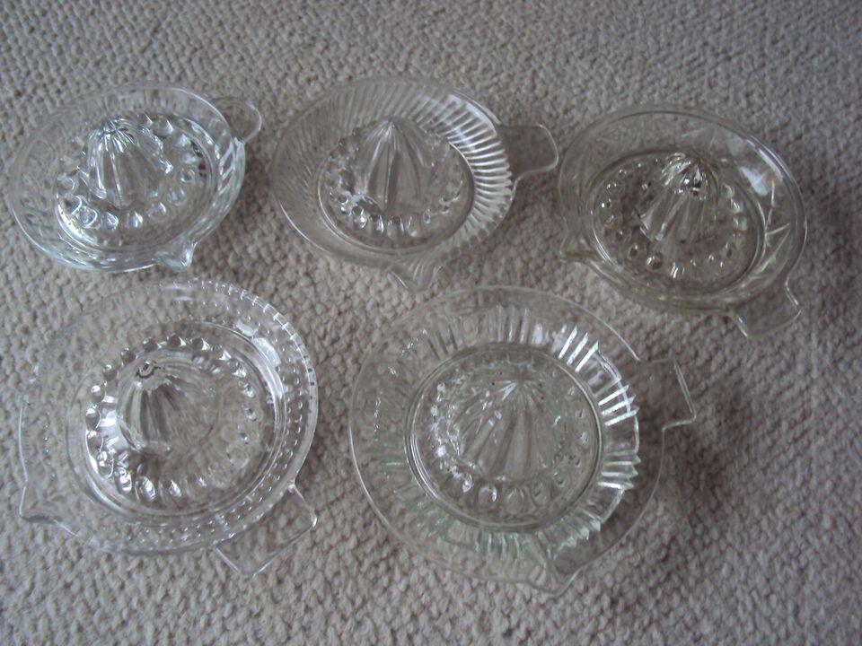 Glas, Citronpresser, Retro