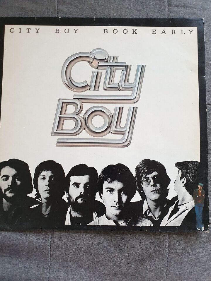 LP, City Boy, Book Early