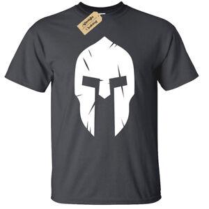 Spartan-Helmet-MENS-T-shirt-bodybuilding-mma-gym-fitness-training-workout-top