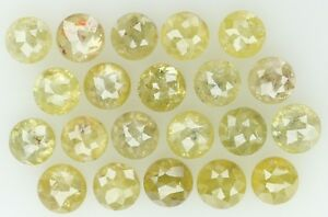 Natural-Loose-Diamond-Green-Color-Round-Rose-Cut-I2-Clarity-21-Pcs-3-02-Ct-KR714