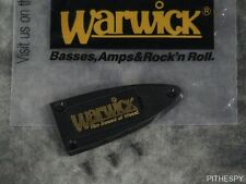 NEW WARWICK BASS TRUSS ROD COVER THE SOUND OF WOOD THUMB CORVETTE STREAMER